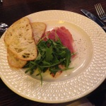 Proscuitto Carpaccio from Blue Inc