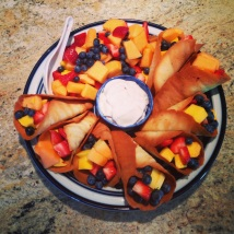 Fruit in Tuiles