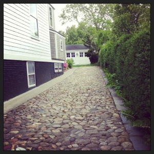 Nantucket cobblestones